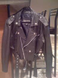 wilson leather biker jacket