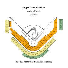 Roger Dean Stadium Seating Chart With Seat Numbers Roger Dean Stadium Events And Concerts In Jupiter Roger