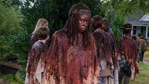 walking dead rick michonne romance hollywood reporter