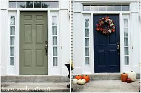 exterior door painting ideas.  Ideas Front Door Paint Colors Painting An Exterior Can Be Intimidating I  Recently Painted Mine And   In Exterior Door Painting Ideas