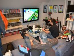 video gaming room furniture. Video Game Room For Small Rooms To Maximize Experience Gaming Furniture