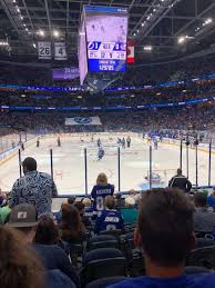 Amalie Arena Section 109 Home Of Tampa Bay Lightning