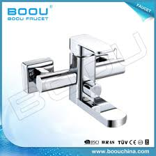 boou wall mounted brass flat bathtub faucet with single handle 91013 3