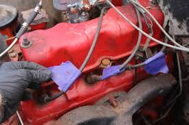 how to convert your willys f 134 from points to electronic ignition 1959 willys cj 6 pertronix f134 head electronic ignition conversion label plug wires photo 140974787