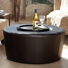 bedding dazzling large round storage ottoman coffee table 17 wonderful leather storage