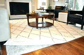 rug pads safe for hardwood floors area rugs awesome non skid pad best chenille astounding ideas
