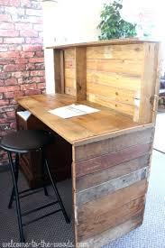 desk diy reclaimed wood reception desk reclaimed wood reception desk reclaimed barn wood reception desk