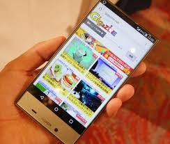 Sharp Aquos Crystal 2 Shows in Hands-on ...