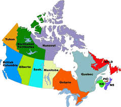 download map of canada and provinces  major tourist attractions maps