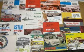 Old Brochures Classic Car Brochures A Celebration Of The Art Of Publicity Cars