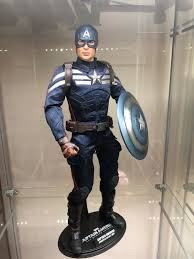 hot toys capn america the winter solr stealth suit from hot toys