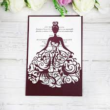 Princess Invite New Lase Cut Crown Princess Invitations Cards For Business Birthday