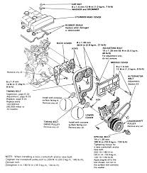Repair guides engine electrical timing belt and tensioner rh 90 integra 93 integra engine harness diagram