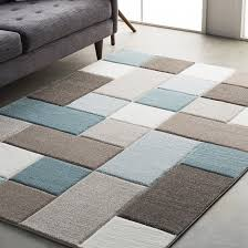 remarkable teal and black area rug wrought studio mott street modern geometric carved browns home design