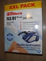Обзор от покупателя на <b>Пылесборник Filtero</b> XXL ЭКСТРА <b>FLS</b> ...