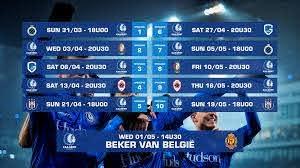 Kalender voor Play-Off 1 bekend