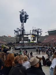 Rose Bowl Section 9 H Row 10 Seat 109 Taylor Swift Tour