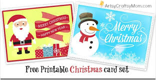 Christmas Card Images Free 2 Free Printable Christmas Cards Print At Home Artsy Craftsy Mom