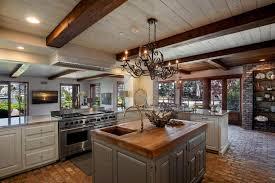 Kitchen Decoration Of Rustic Open Kitchen Designs Craftsman Style