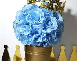 Royal Prince Baby Shower Party Ideas  Royal Prince Royals And Prince Themed Baby Shower Centerpieces