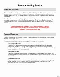 Types Of Resume Formats Best Of 15 Lovely Different Types Resumes