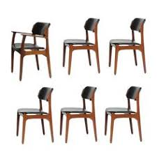 set of six rosewood eric buch dining chairs model 49 for illums bolighus