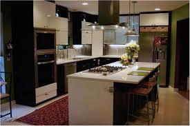 Amazing Kitchen Island Renovation On Kitchen Island Decorating Have L  Shaped Black White Stained Wooden Kitchen ...