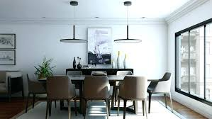 better chandelier height above table dining room