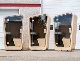 office privacy pods. office space seclusion pods privacy trend hunter