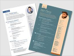 Free Resume Template Download Enchanting 60 Best Free Resume CV Templates In Ai Indesign PSD Formats