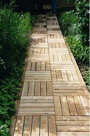 Small Picture 30 Green Design Ideas for Beautiful Wooden Garden Paths