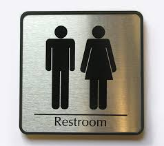 Handicap Bathroom Signs Beauteous Restroom Logos