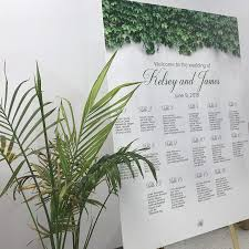 Wedding Seating Chart Wording The Most Popular Wording For Your Wedding Seating Chart