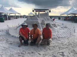 Schooners Lobsterfest sand castle ...