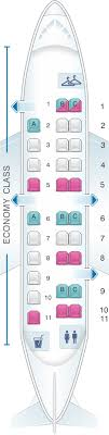 Seat Map United Airlines Embraer Emb 120 Em2 Version 1