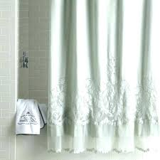 white cloth shower curtain extra long white shower curtain um size of extra large shower stalls
