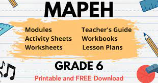 This was essential in times before music could be recorded and replayed, but it is still important today. Mapeh Learning Materials In Grade 6 Free Download Deped Click