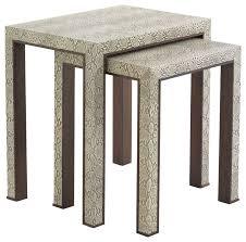 adler nesting tables contemporary