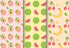 Fruit Pattern Magnificent Fruit Pattern Free Vector Art 48 Free Downloads