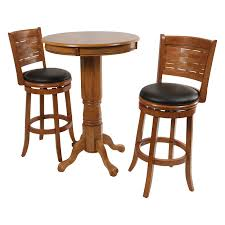 boraam oak sumatra 3 pc pub table set hayneedle with tables and bar stools master bor126