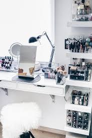 White Makeup Organizer Makeup Storage Makeup Storage White Bathroom Diy Organizer Ideas