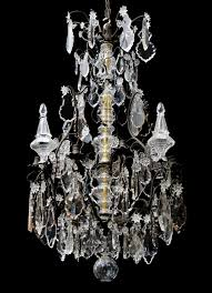 antique french crystal and bronze chandelier antique french crystal and bronze chandelier