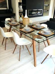 room sets with round glass top dining ta glass
