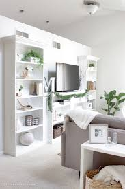 our ikea hack diy built in bookcase