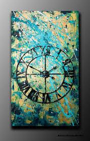wall clock modern 3d wall art