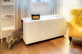 space saving living room furniture. 24 cat litter box inside a livingroom table space saving living room furniture