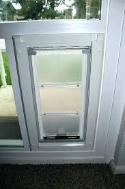 dog door for window sliding glass