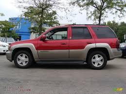 2003 Chevrolet TrailBlazer LTZ 4x4 in Majestic Red Metallic ...