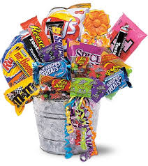 north miami fl florist home junk food bucket gift basket view larger