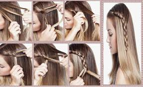 Coiffure Simple Cheveux Long Beau Tuto Coiffure Annee 50